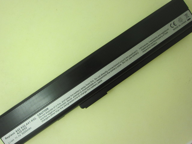 5200MAH 6 cells Laptop Battery For Asus A52 A52F A52J K42 K42F K52F K52 K52J K52JC K52JE A31-K52 A32-K52 A41-K52 A42-K52<br><br>Aliexpress