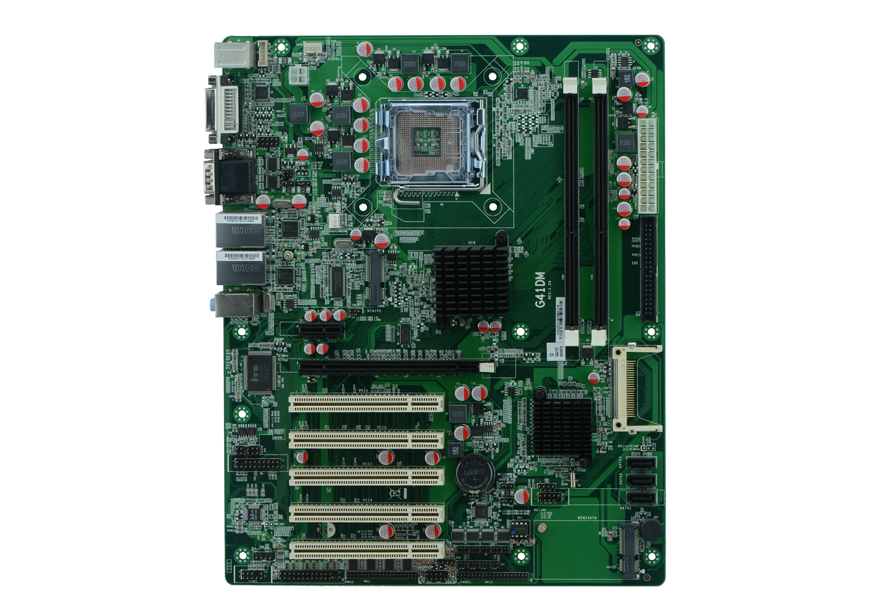 G41DM NVR industrial motherboard LGA775 motherboard with 10 COM supports supports RS232/RS422/RS485(China (Mainland))