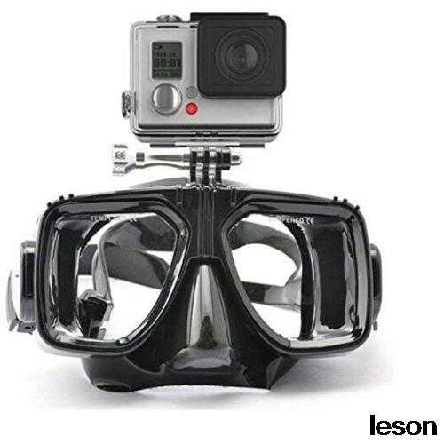 Camera Mount Diving Mask Scuba Snorkel Swimming Goggles For GoPro HD Hero 2 3