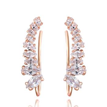 Высокое качество 2015 новый четыре - зубец установка 9 шт. cz-алмазов 18 К позолоченные ...