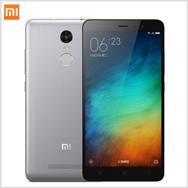 "Xiaomi Redmi Note 3 Pro Prime 3 ГБ ОПЕРАТИВНОЙ ПАМЯТИ + 32 ГБ ROM Примечание 5.5 ""MIUI7 Snapdragon 650 4 Г отпечатков пальцев ID Смартфон"