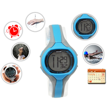 Technical Waterproof Digital Wrist Watch Sport style Alarm light for women lady Synchronous and easily control