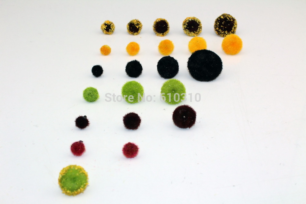 Free shipping 100pcs mixed Size chrysanthemum sunflower stamen for artificial sunflower 7 styles for selection(China (Mainland))