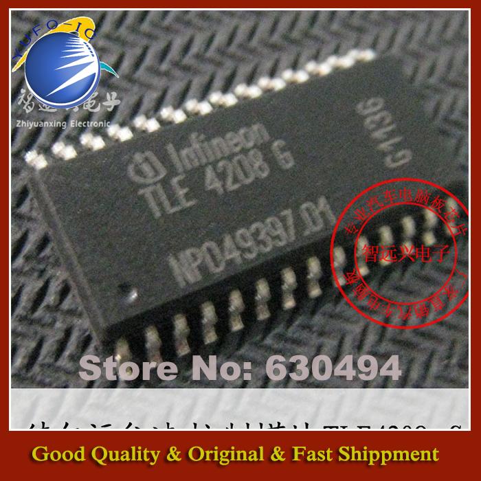 Free Shipping 10PCS TLE4208G JAC Eagle Delphi Automotive engine computer board chip idling control module (YF1205)(China (Mainland))