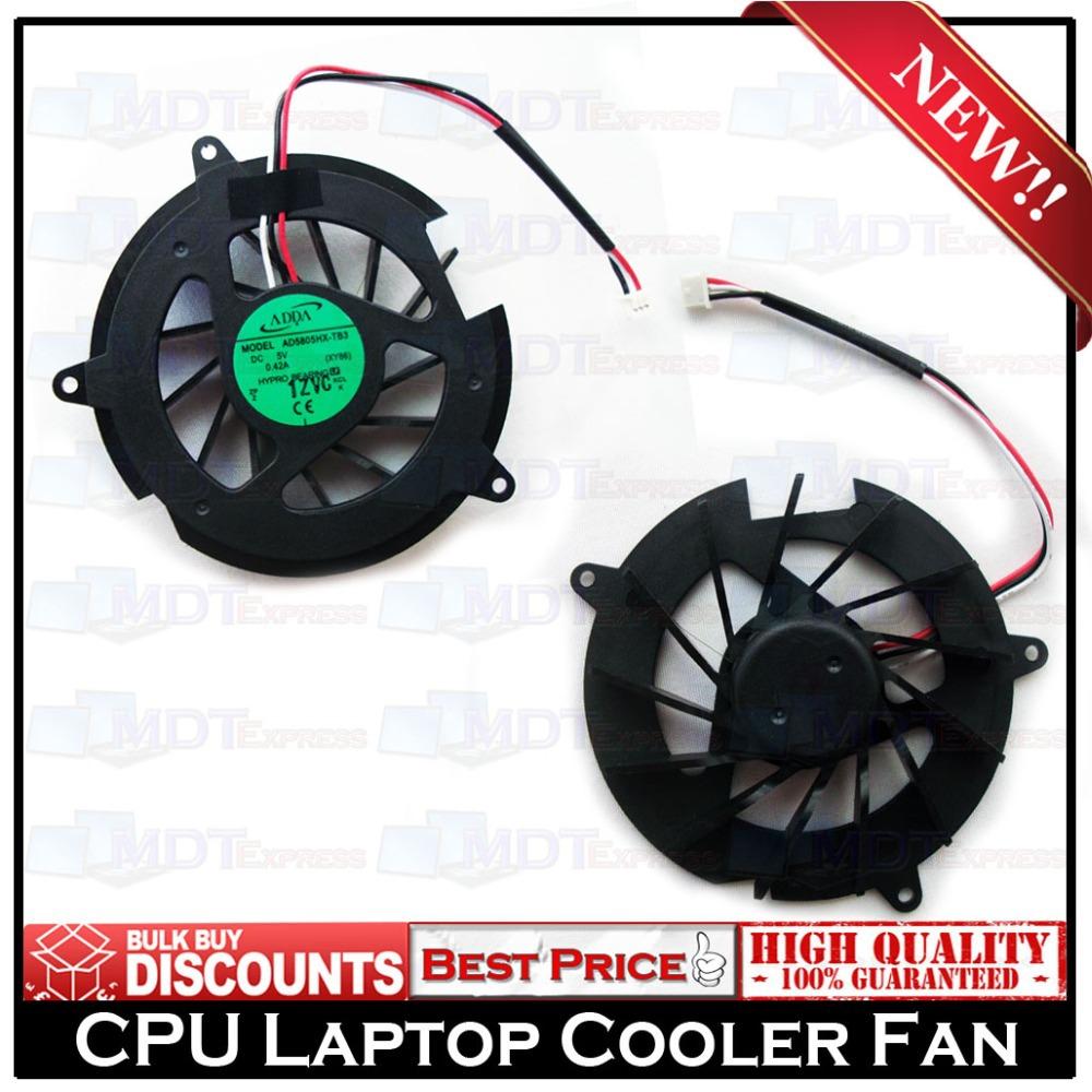 New! 3 Pin Original Laptop Notebook CPU Cooling Cooler Fan for HP DV8000 DV5000 DV5100 DV5200 G5000 AD5805HX-TB3 XY86(China (Mainland))