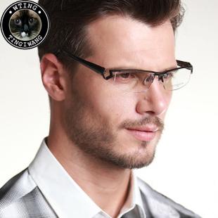 2014 Masaki brand new noble originals eyewear dimensional full titanium frame eyeglasses male personality glasses - A-Zed Luxury Eyeglasses store