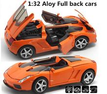 Суперкар 1:32 сплав модель, Задерживать игрушка автомобиль, Синий Diecasts игрушки автомобили