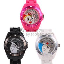 Doraemon frete grátis relógio de edição limitada pulseira de placa de cerâmica de mesa giratória exalam