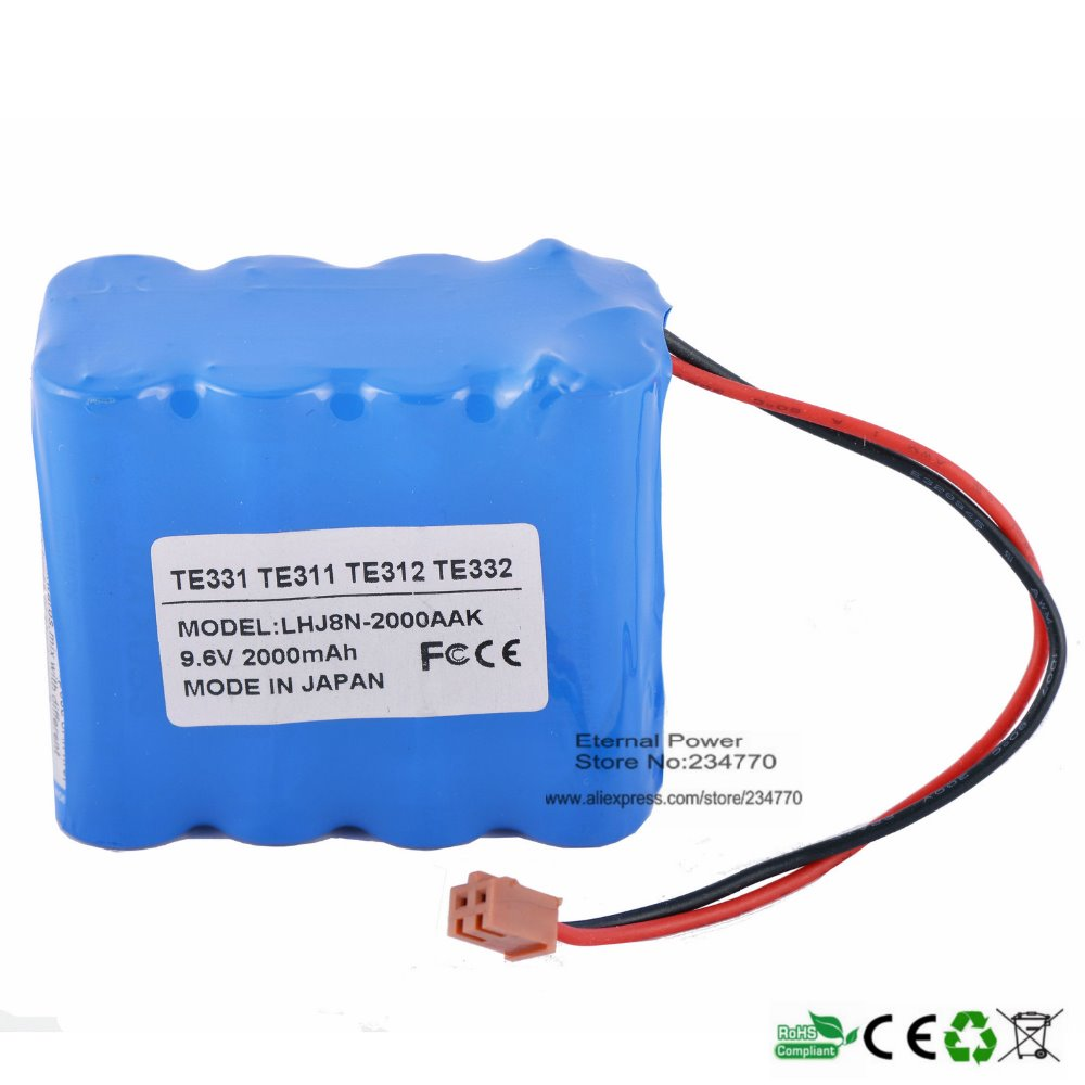 Infusion Pump battery Replacement For Terumo Infusion Pump TE-331,TE-311,TE-312,TE-332,BN-600AAK Syringe Pump battery