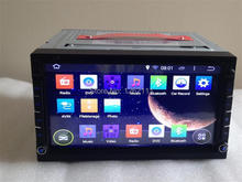 Universal Double 2 Din Android 4 4 Quad Core Car DVD Player 3G WIFI GPS Navigation