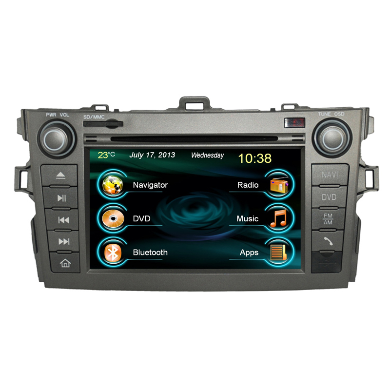 For Toyota Corolla Touch Screen Car Stereo Audio With Gps