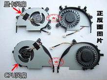 NEW Free shipping cooling fan FOR ACER Aspire V5-552G V5-572 V5-572G V5-573 V5-573G CPU COOLING FAN L+R