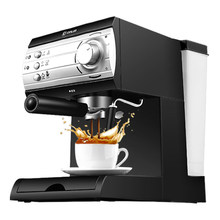 Free shipping The espresso machine use commercial semi-automatic instant steam double charged