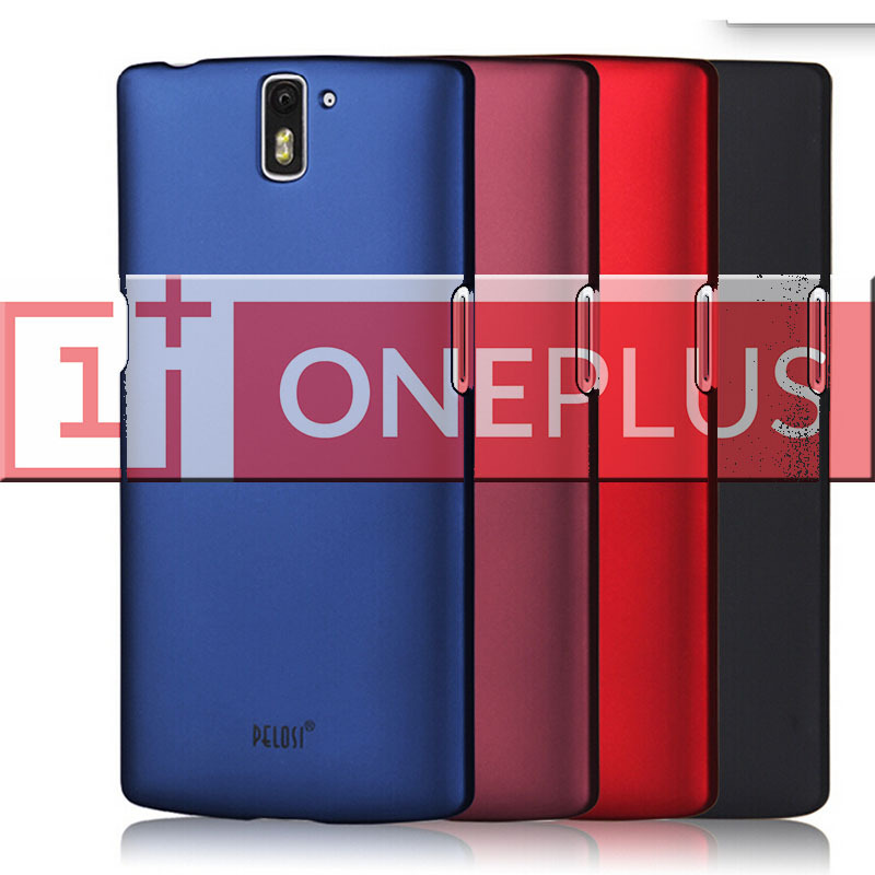 product Original PELOSI OnePlus One Protective Case Hard Colorful Cover Case for Oneplus one A001 A+ Buy 1 Get 1 Free Gift
