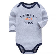 Newborn Baby Clothing Baby Boys Girls Clothes 100% Cotton Baby Bodysuit Long Sleeve Infant Jumpsuit 2018 New Fashion(China)