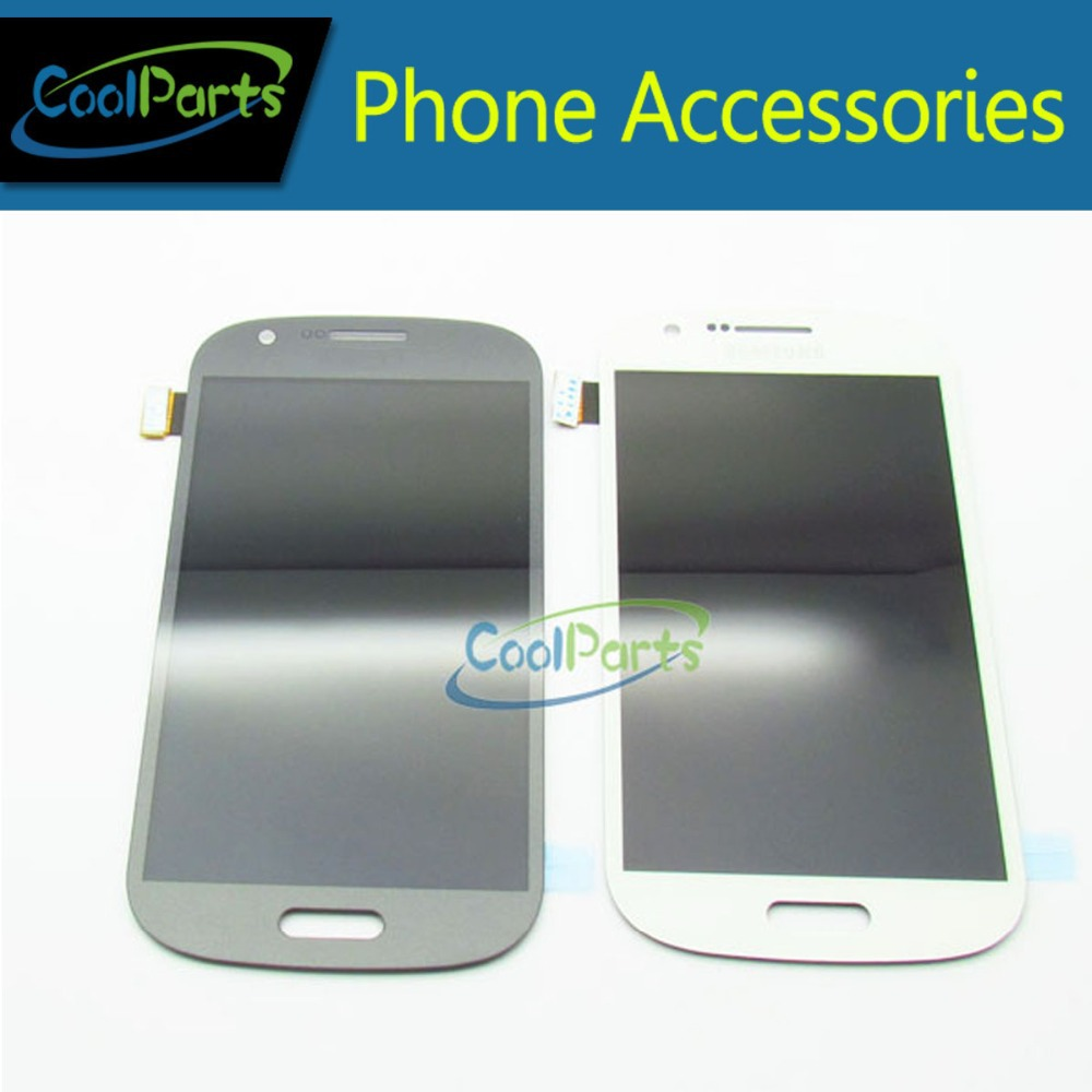 Grey / White Color For Samsung Galaxy Express i8730 LCD Display Touch Screen Digitizer Without Frame Dark 1PC/Lot Free Shipping