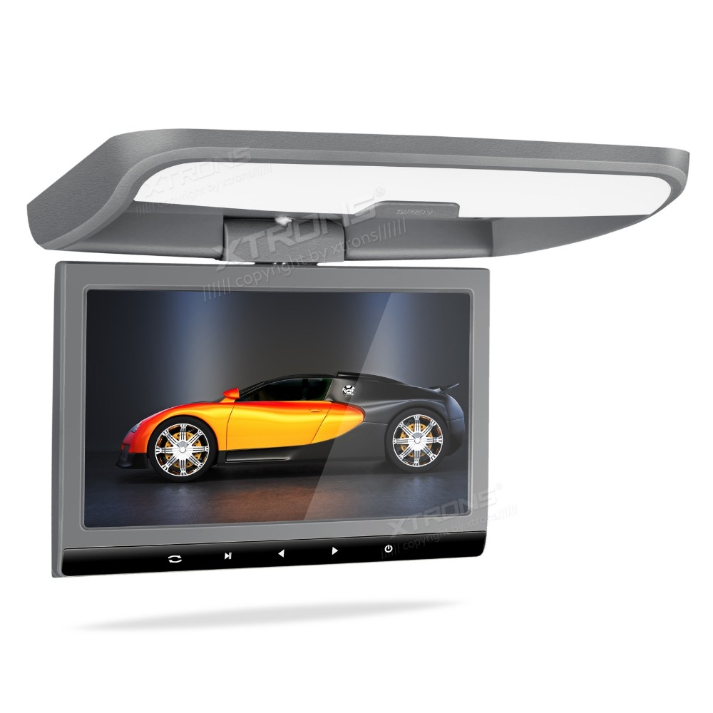 """10.1"""" Grey Color Sleek Touch-Panel Design Flip Down Car DVD Car Roof DVD Roof Mounted Car DVD with 12V/24V Power Input Support(China (Mainland))"""