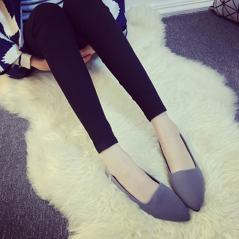 2016 comfortable casual flat shoes slip on work