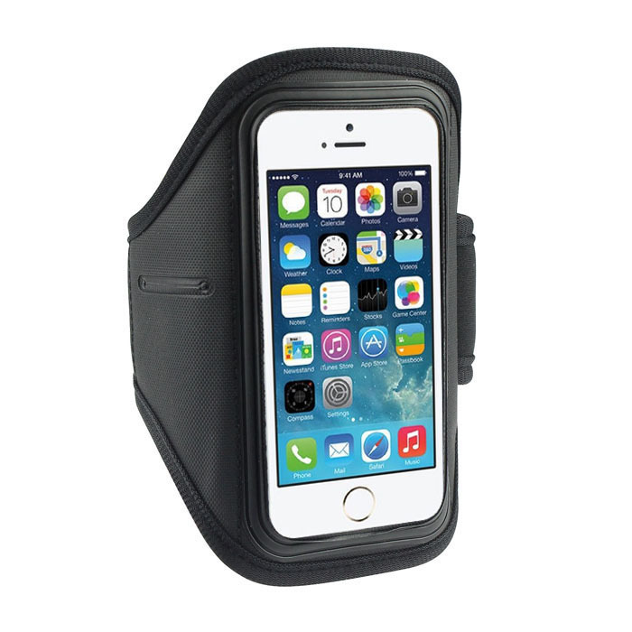 Adjustable Running SPORT GYM Armbands Bag Case for Apple iPhone 4G/4S/5G/5S/5C Waterproof Jogging Arm Band With Headphone Jack(China (Mainland))