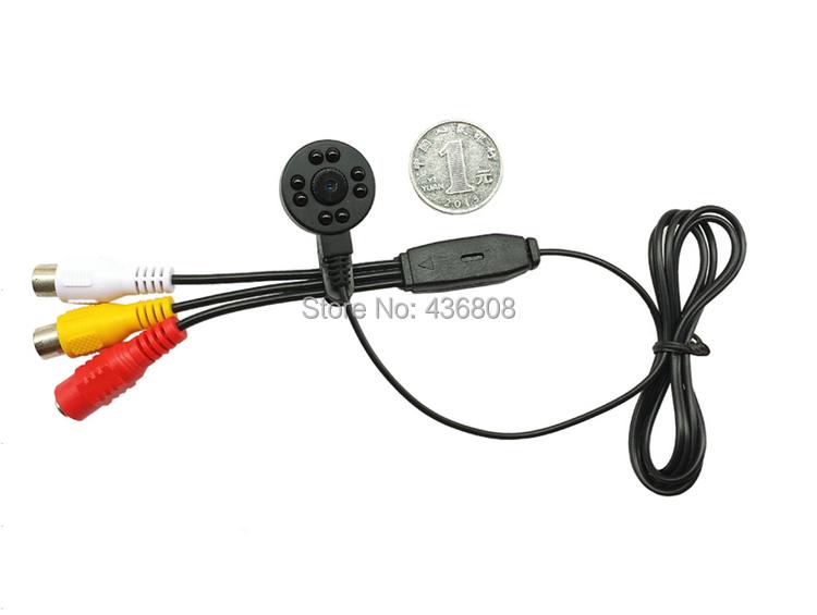 IR 700TVL HD Mini night vision surveillance cameras 940 black light red miniature camera pinhole cameras(China (Mainland))