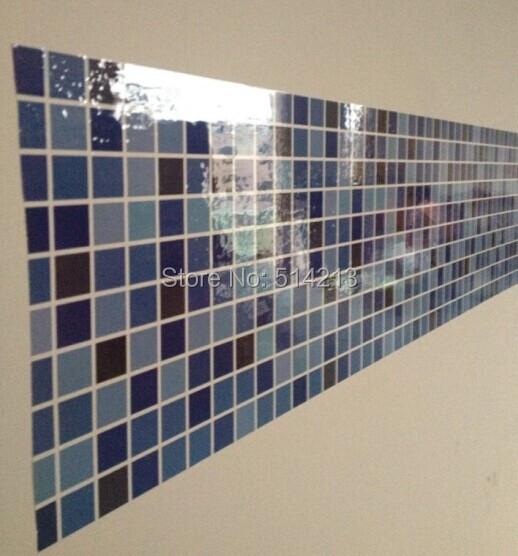 Comprar pvc etiqueta de la pared papel - Pegatinas azulejos bano ...