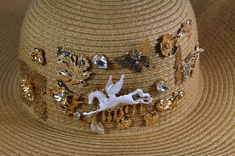 summer sun grass hat large brimmed hat folding beach hat cap summer hat female Одежда и ак�е��уары<br><br><br>Aliexpress