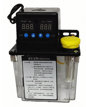 1L Automatic Lubrication pump 220V Digital electronic Timer Oil Pump For CNC router(China (Mainland))