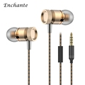 High Quality Wired Earphones Bass Stereo In ear Earbuds With Mic 3 5mm For Cellphone Mp3