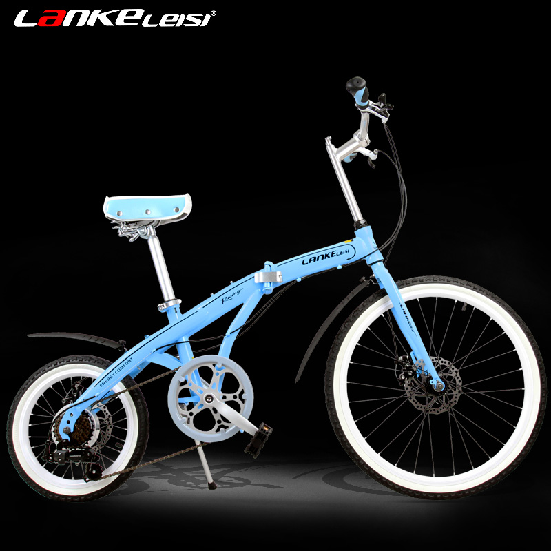 "16"" and 24"", Fashion, Folding Bike, Double Disc Brake, Small Wheel Bike for Men and Women(China (Mainland))"