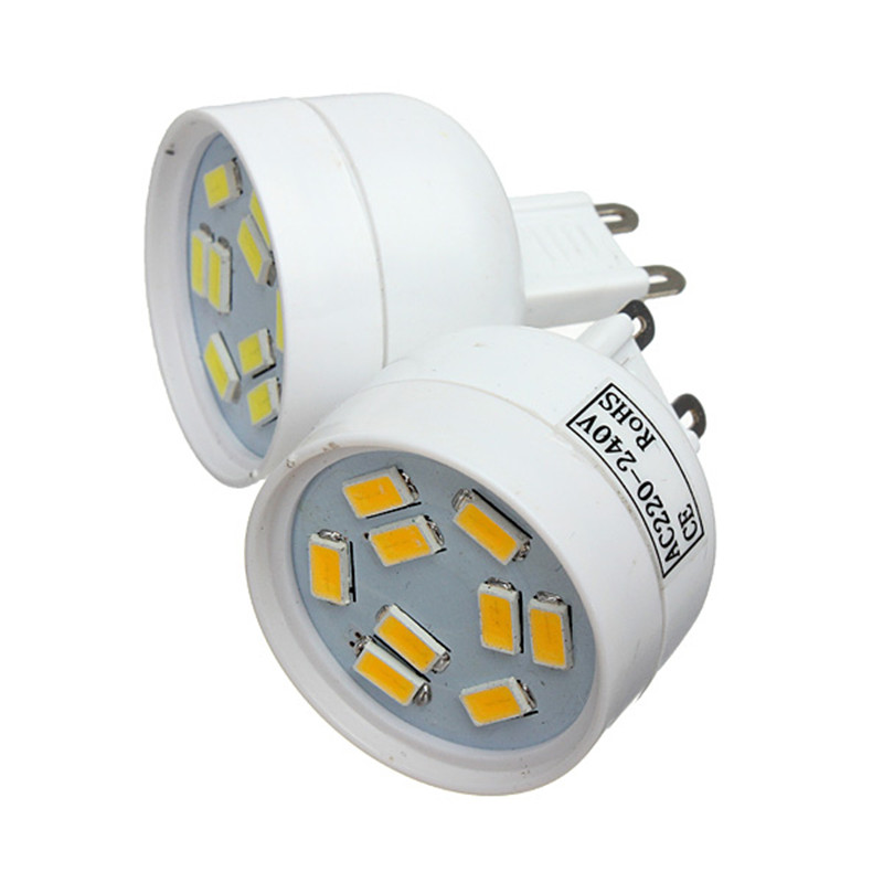 Best Price Excellent Quality G9 3W 5630 SMD 9LED Pure/Warm White Spot Light Lamp Bulb 220V<br><br>Aliexpress
