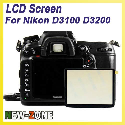 Professional LCD Screen Protector Optical Glass Special for Nikon D3100 D3200 DSLR Camera Free shipping