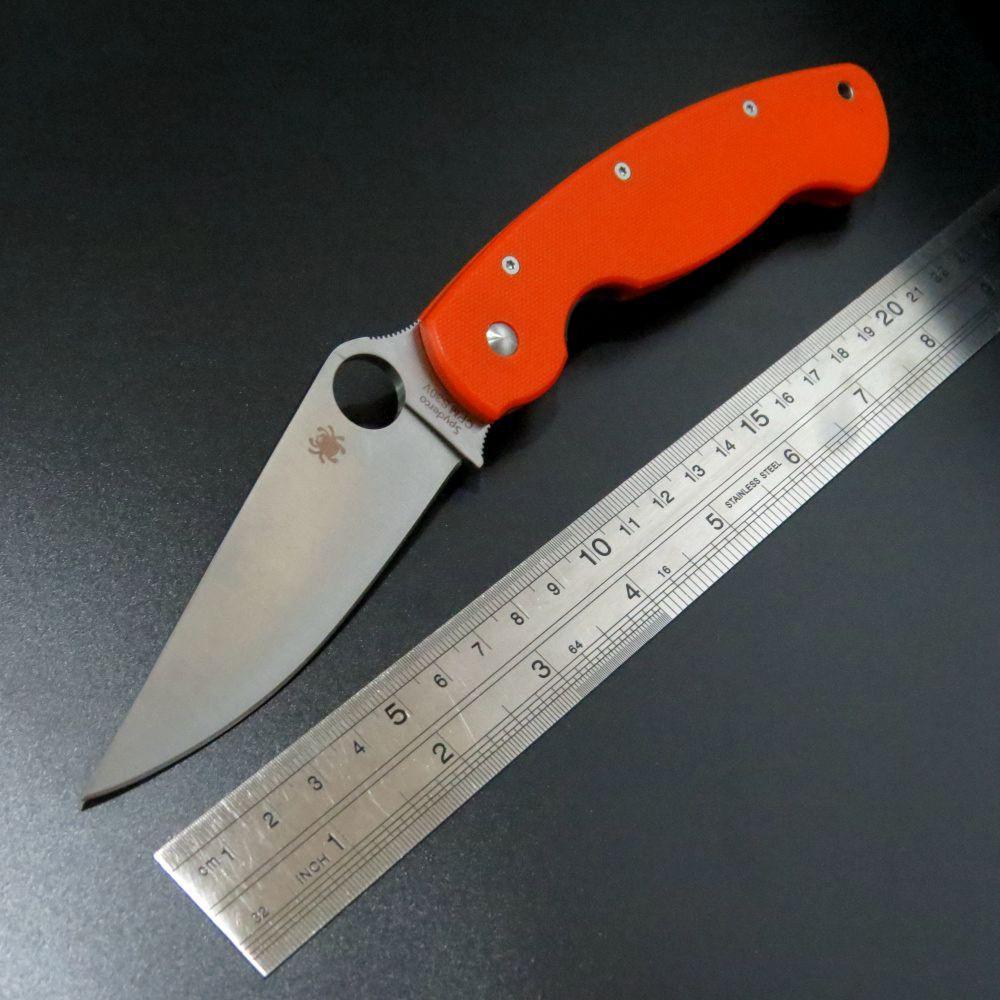 Efeng C36 Örümcek Katlanır Blade Bıçak Taktik 9Cr Blade G10 Kolu Kamp Bıçaklar Survival Avcılık Açık Aracı