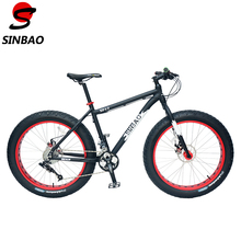 SINBAO Top Qualtiy 26'' Snow Bike, 4.0 Wide Tyre,Aluminum Alloy Frame, Sram Derailleur + BB5 Disc Brakes,21 Speeds.  XD 4.0(China (Mainland))