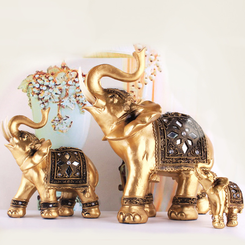 Online Buy Wholesale Resin Elephants From China Resin