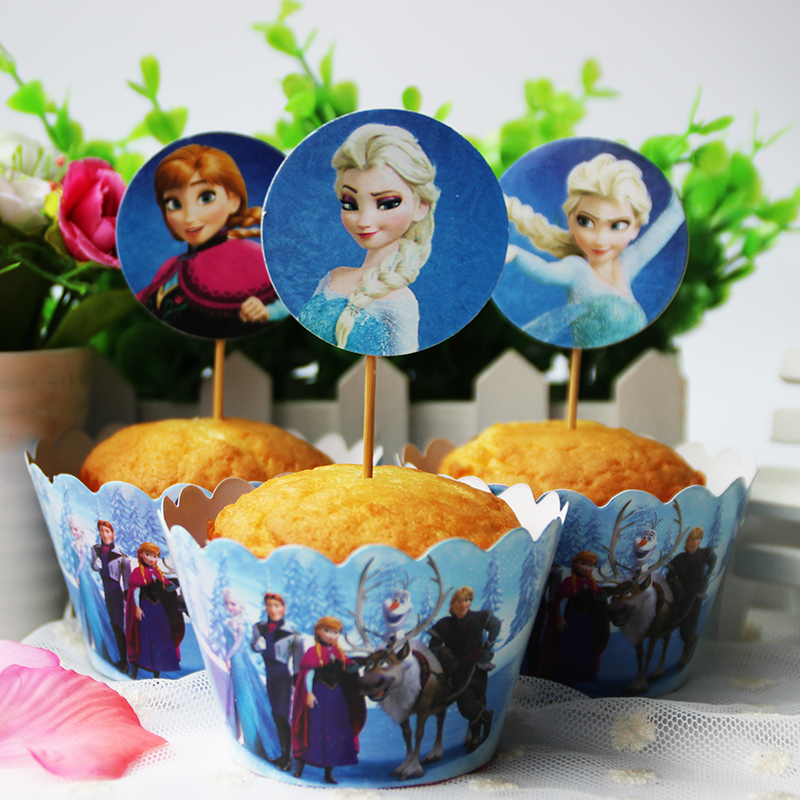 Movie snow queen elsa and anna for girls birthday party for Anna decoration in home