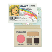 The Balm Makeup Eye Shadow Palette Cosmetics Autobalm Driver License Matte Visage Naked Eyeshadow Thebalm Face Make Up Palette