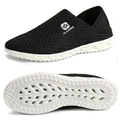 Aleader Lightweight Unisex Shoes Summer Casual Mesh Shoes Men Indoor Slippers Slip On Breathable Walking Shoes