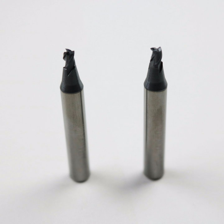 raise free shipping locksmith tools supply carbide end mills 2.2mm for key cutting used on mult vertical key cutting machines(China (Mainland))