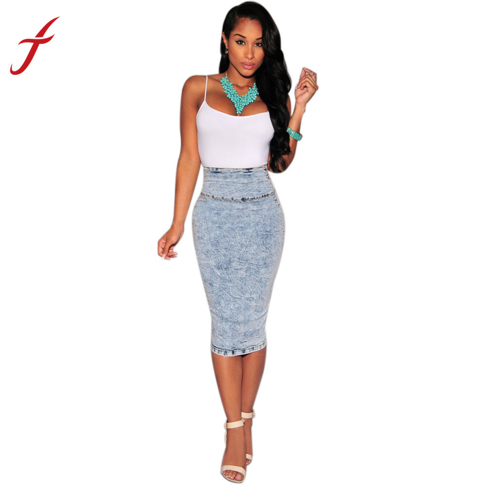 To acquire How to high wear waisted denim skirts picture trends