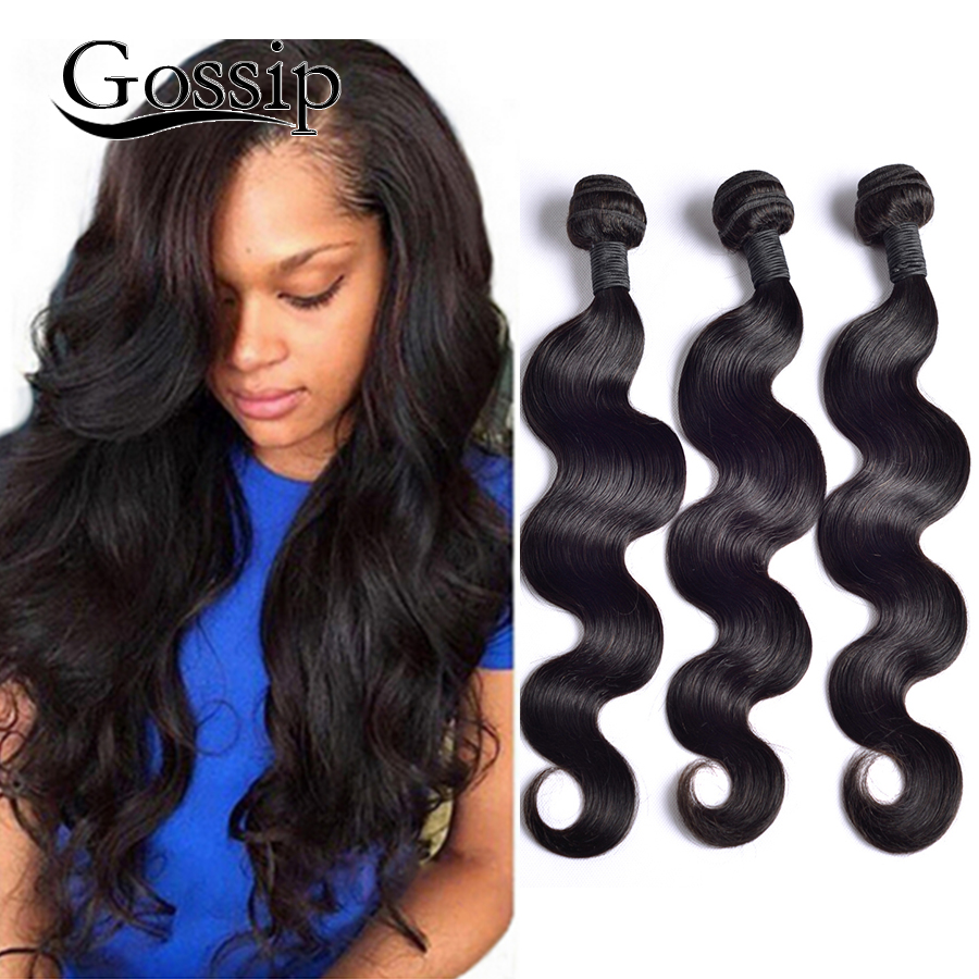Peruvian Body Wave 3 Bundles 7A Unprocessed Virgin Hair Cheap Human Bundle Deals Weave - Gossip Products-100% Store store