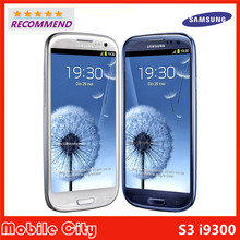 Refurbished Unlocked S3 Original Samsung Galaxy S3 i9300 Cell phone Quad Core 8MP Camera NFC 4.8'' Touch GPS Wifi GSM 3G WIFI(China (Mainland))