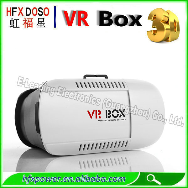 VR BOX 3d google virtual reality glasses work for 4-5.6 inch mobile phone(China (Mainland))
