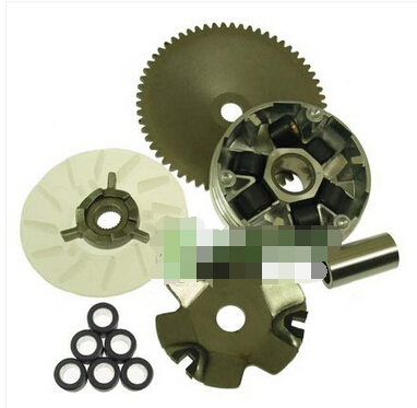 High-quality for driving wheel scooter moped motorcycle assembly for GY6 48cc 50 80 clutch pulley wholesale,Free shipping(China (Mainland))
