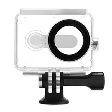 Waterproof Case 40M Diving Sports Underwater Box Action Camera Accessories for Xiaomi Yi Xiaoyi  (White color)