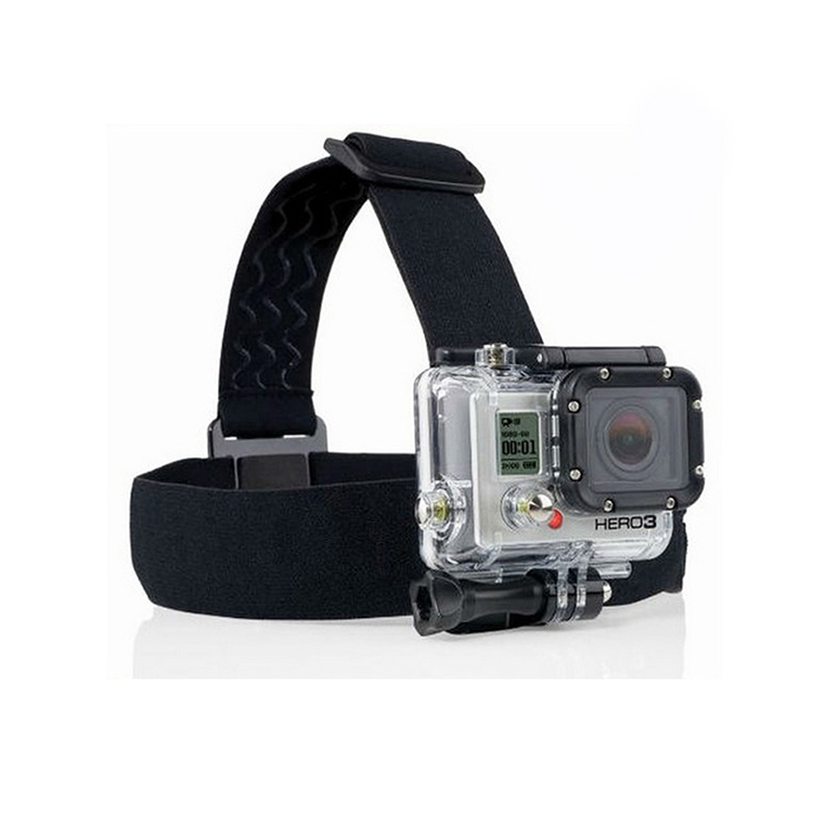 gopro hero Elastic Adjustable Head Strap Mount For Go pro Hero 4 3 2 Cameras Accessories with anti-slide glue like original<br><br>Aliexpress