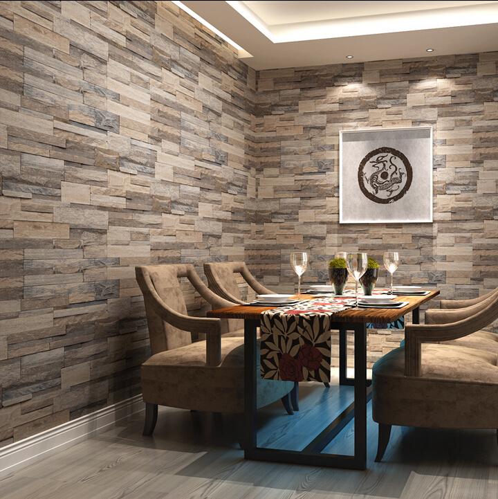 Awesome brick stone design home pictures interior design for Brick wallpaper ideas