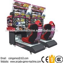 32''LCD 2016 New Amusement Midnight Maximum Tune 3DX Arcade Coin Operated Simulator 3D Video Driving Car Racing Games Machine(China (Mainland))