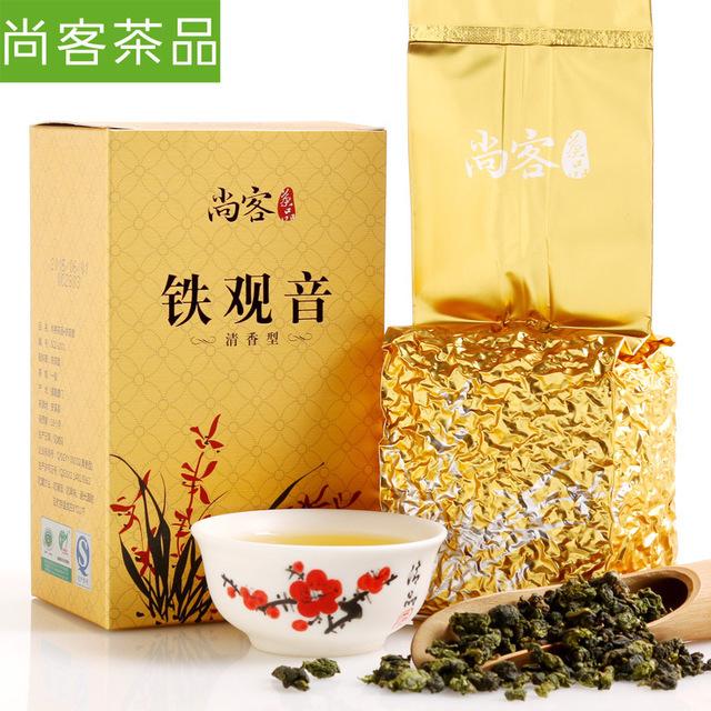 [GRANDNESS] 2015 Fresh New Tea 125g High Mountain Oolong tea China Anxi tie guan yin 1725 slimming tieguanyin AAAAA Chinese tea(China (Mainland))