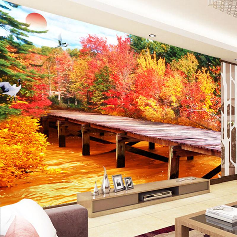 Hoge Kwaliteit Groothandel herfst gratis behang van Chinese herfst ...