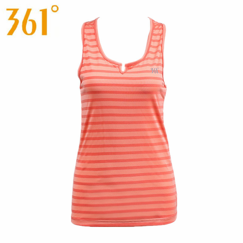 361 Womens Summer Sport Stripe Running Vest Female Anti-UV Quick Dry Sleeveless Shirts Comfortable Jogging Vests 401510206B0G60<br><br>Aliexpress